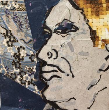 Collaged Portrait #9