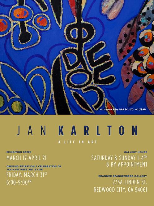 Jan Karlton Poster