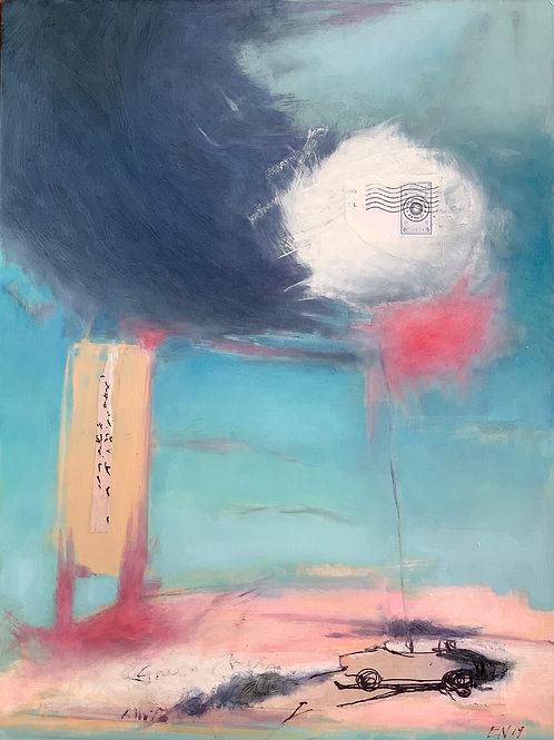 Smog Check I by Elizabeth Noerdlinger
