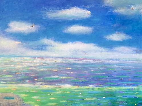 Seashore by Elizabeth Noerdlinger