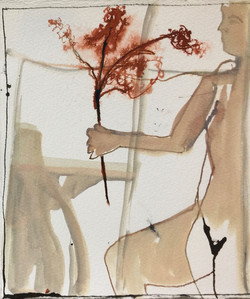Figure VIII (Girl with Blossoms)
