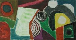 """Studio 14 - 9 - DrypointMonotype - 35"""" x 18"""".JPG"""