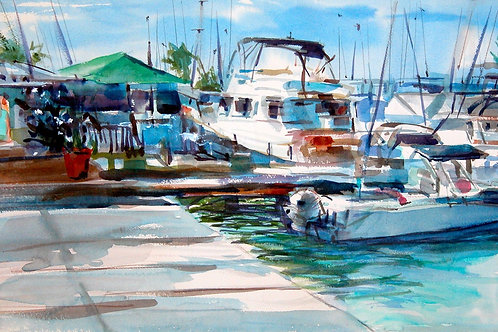 Key West Marina by Chris Kidd
