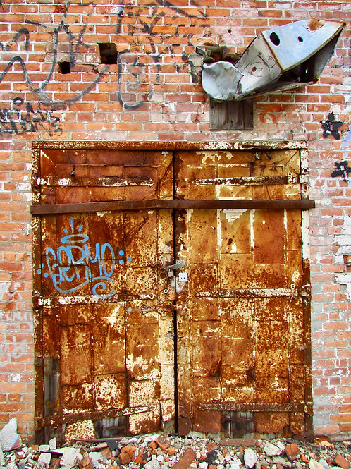 Rusted Doors By Chris Brandstetter