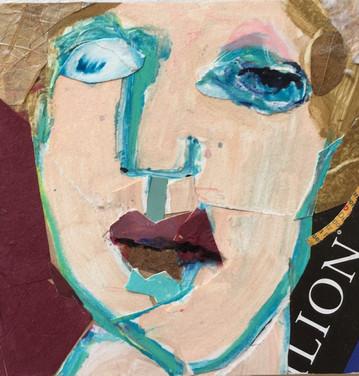 Collaged Portrait #6