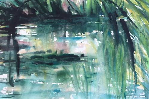 Monet's Garden by Chris Kidd