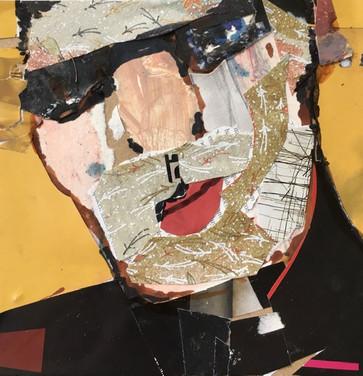 Collaged Portrait #11