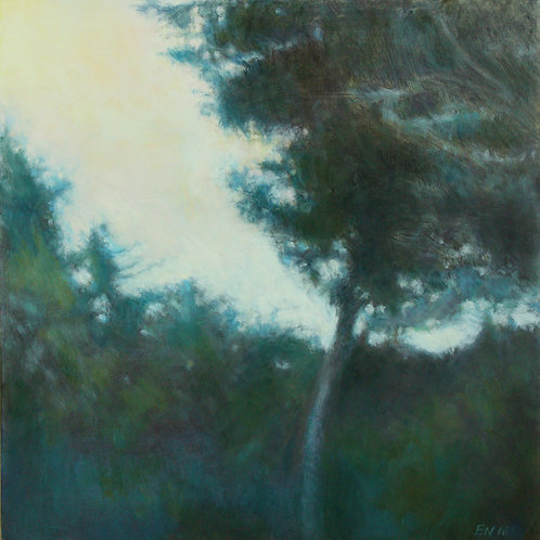 Tree Summer Evening by Elizabeth Noerdlinger