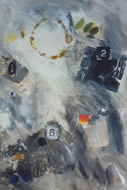 Grey #1 by Joyce Savre