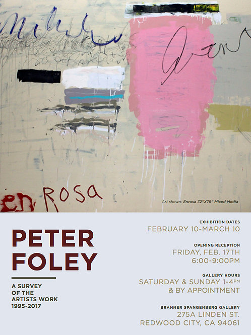 Peter Foley Poster
