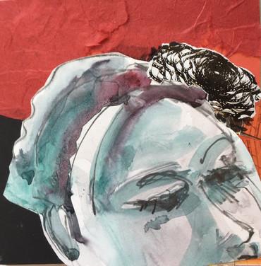 Collaged Portrait #8