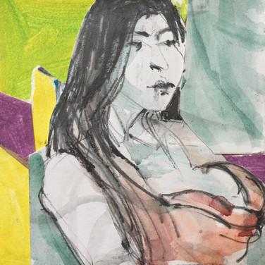 Collaged Portrait #10