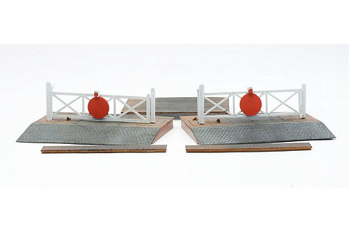 Dapol 1:76/OO gauge Level crossing  (C015)
