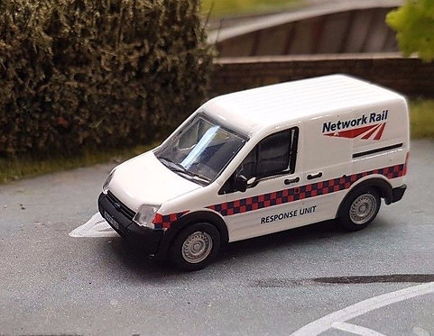1:76 Oxford Diecast Ford Transit Connect Network Rail - 76FTC002