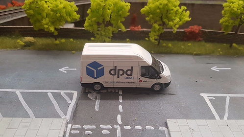 1:76 Code 3 Blue DPD Oxford dicast ford transit