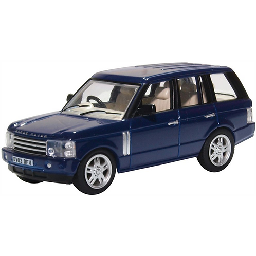 1.76 Oxford Diecast Range Rover 3rd Generation Adriatic Blue