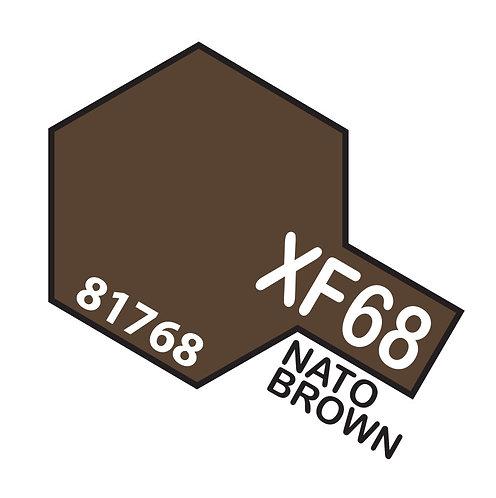 Tamiya 10ml  XF-68 Nato Brown