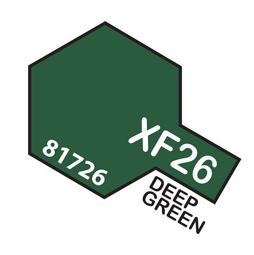 Tamiya 10ml  XF-26 Deep Green
