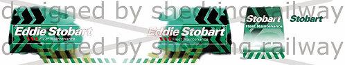 1:76 Code3 Eddie stobart fleet maintenance Decals for oxford diecast transit
