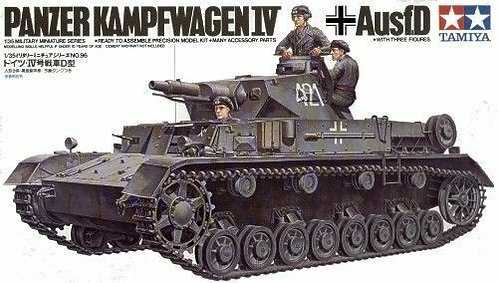 Tamiya Panzer Kampfwagen IV 1:35 Military Model kit