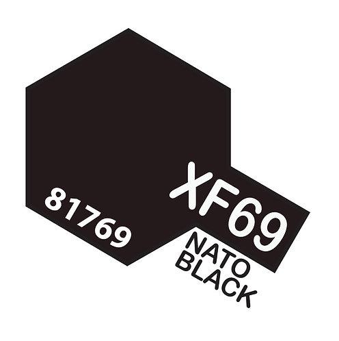 Tamiya 10ml  XF-69 Nato Black