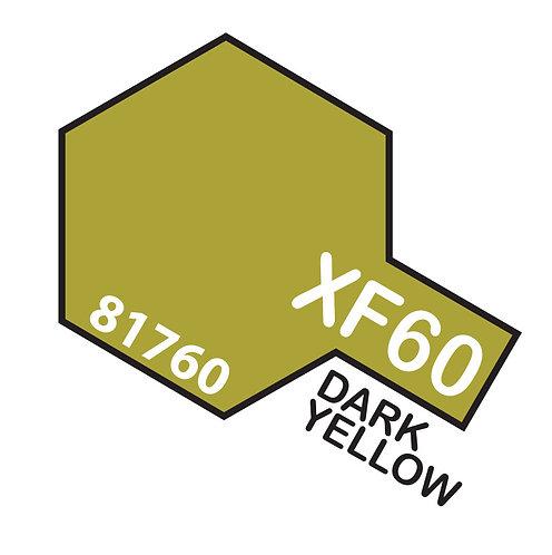 Tamiya 10ml  XF-60 Dark Yellow