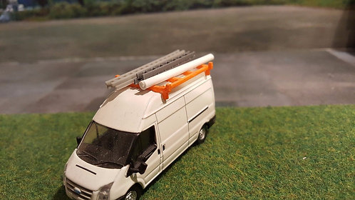 1:76 roof rack accessories (ladders and pipe)