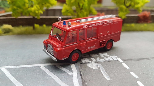 1:76 Oxford Diecast Landrover FT6 Cheshire County Fire Brigade - 76LRC001
