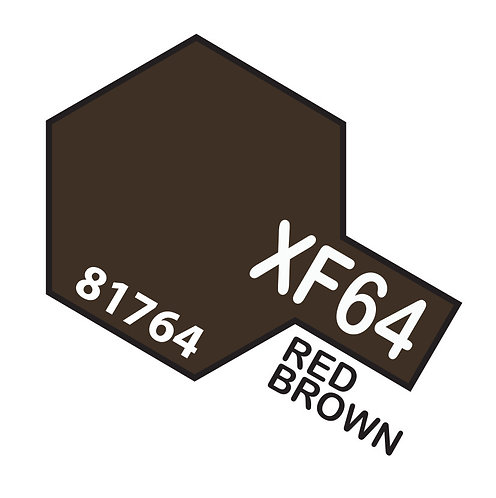Tamiya 10ml  XF-64 Red Brown