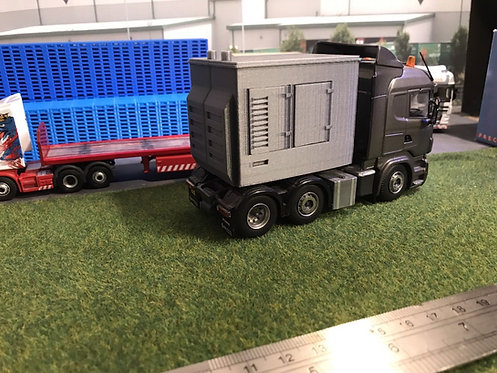 1:50 3D Printed Large Fairground Lorry Generator
