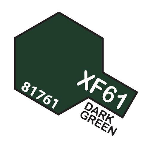 Tamiya 10ml  XF-61 Dark Green