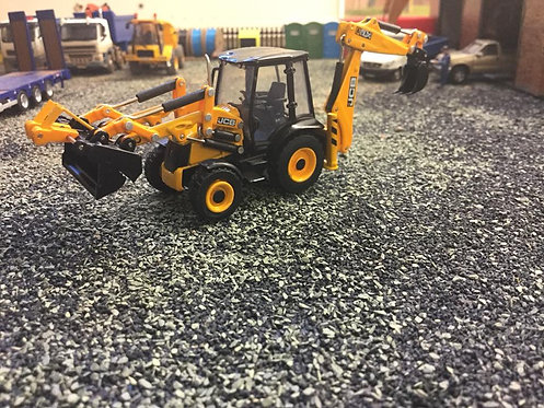 1:76 Oxford Diecast JCB Backhoe (non weathered)