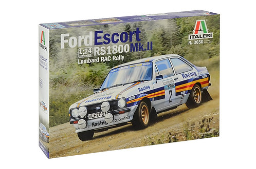 Ford Escort RS 1800 Mk.II Lombard RAC Rally The Ford Escort Mk 2 was launched in