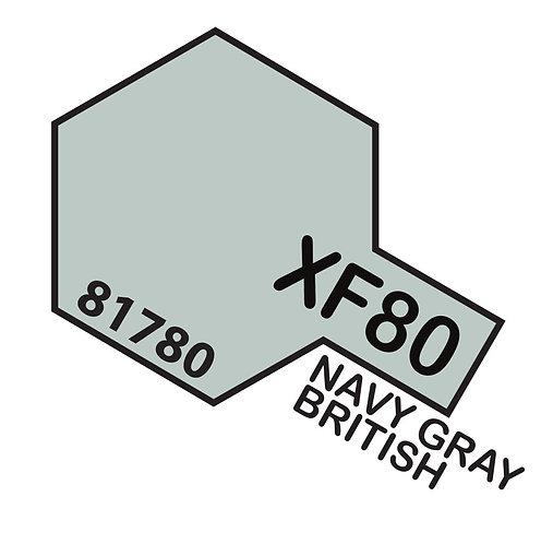 Tamiya 10ml  XF-80 Navy Gray British