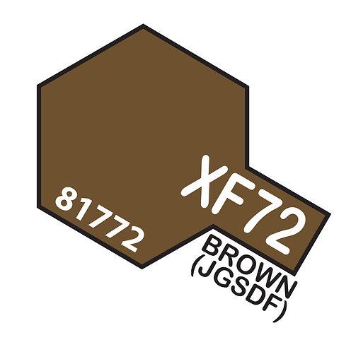 Tamiya 10ml  XF-72 Brown (JGSDF)