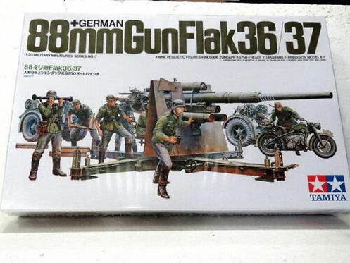 Tamiya 88mm Gunflak 36/37 1:35 Military Model kit