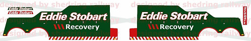 1:76 Code3 Eddie Stobart recovery Decals For Oxford Diecast Recovery trucks