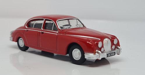 1:76 Oxford Diecast Jaguar MII carmen Red