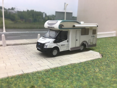 1.76 Code3 Oxford Diecast Ford Transit Motorhome