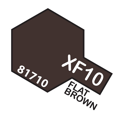 Tamiya 10ml  XF-10 Flat Brown
