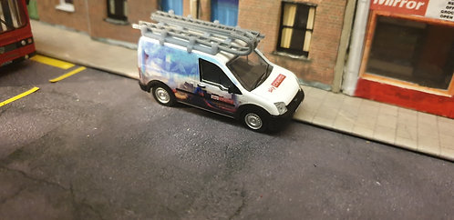 1/76 Code3 Sky Spiderman Oxford diecast transit connect
