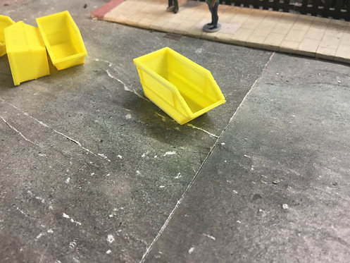 1;148 Scale 16yrd Skips - Yellow 4pk