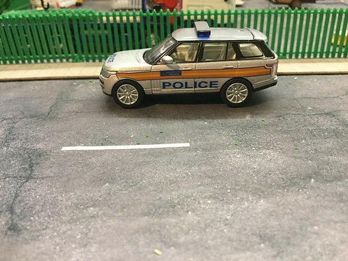 1/76 Code 3 Met Police Oxford Diecast Silver Range Rover