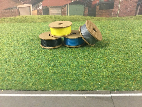 1:76 3D Printed Cable drums