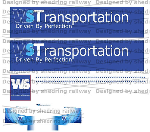 1:76 Code3 WS Transport Decal Sheet For Oxford diecast Scania & Box Trailer