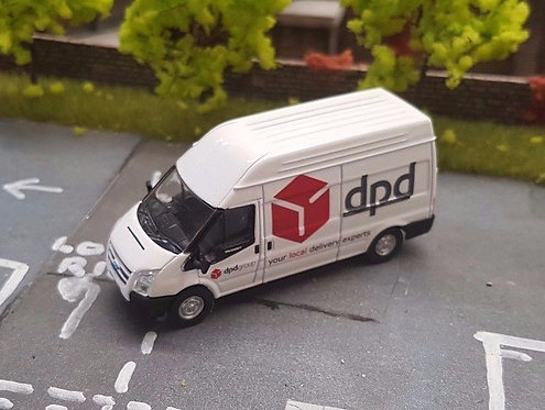 1:76 Code 3 Red DPD Oxford diecast ford transit