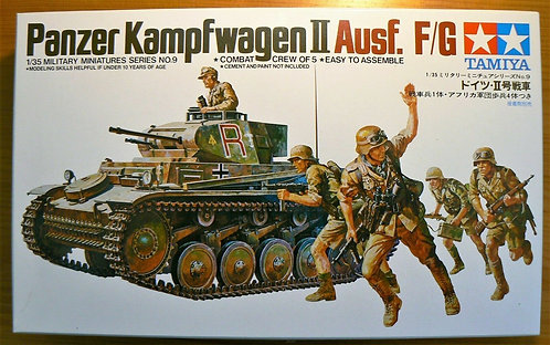 Tamiya 1/35 scale Panzer Kampfwagen II Ausf