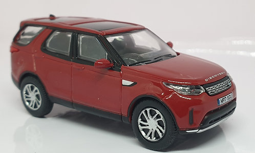 1:76 Oxford Diecast Land Rover Discovery 5 Firenze Red
