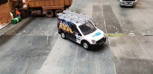 1/76 Code3 Sky A league of their own Oxford diecast transit connect