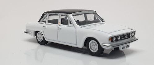 1:76 Oxford Diecast Triumph 2500 Sebring White